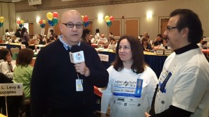 Super Sunday Co-Chairs Albert ElGrissy and Julia Roberts