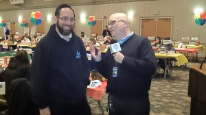 Rabbi Avraham Glutstein, head of Politz Day School