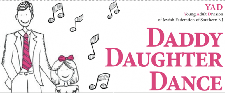 Daddy Daughter Dance, YAD & PJ Library Event, April 3, 2016