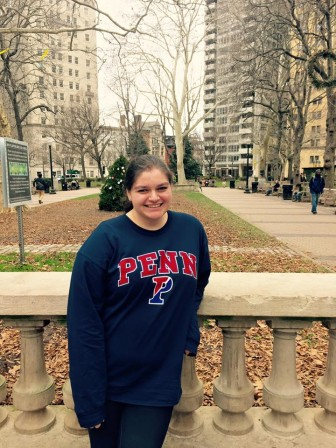 Victoria Kalbacher is a freshman at the University of Pennsylvania and a Cherry Hill resident
