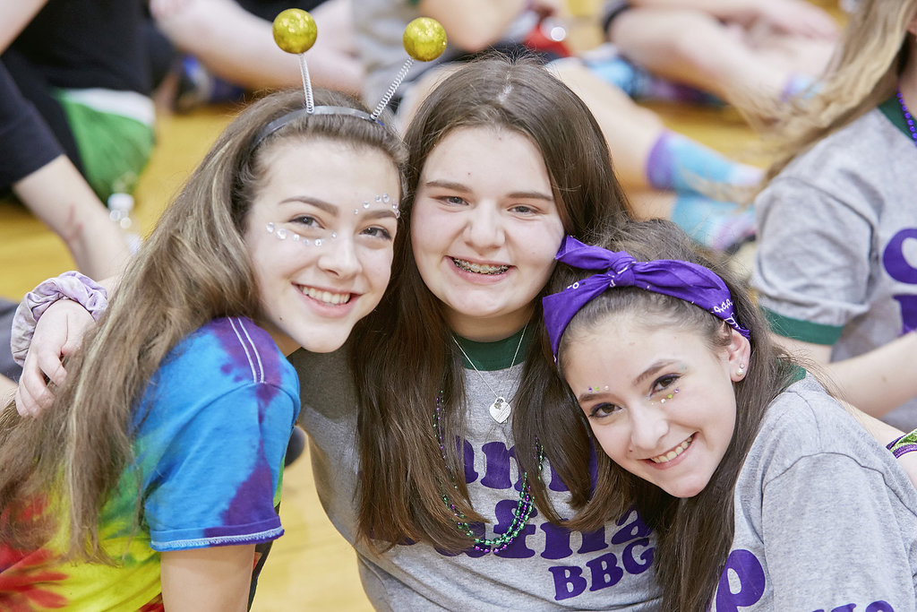 SJR BBYO Tournies '17 (Chloe Castro, Madison Rappaport and Eden Lev)